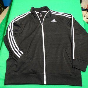 Adidas Climalite Track Jacket Black XL Mens